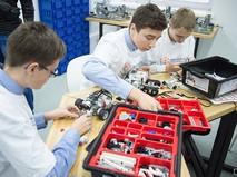Открытие детского технопарка в МФЮА