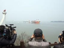 Спасательная операция во время крушения судна