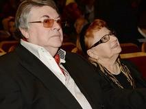 Александр Ширвиндт с супругой Натальей