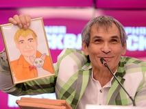 Бари Алибасов на пресс-конференции