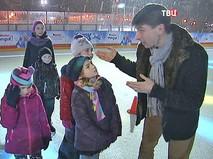 Алексей Ягудин преподает фигурное катание