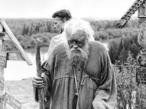 """Павел Кадочников и Игорь Охлупин в фильме """"Сибириада"""""""
