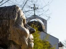 Памятник прорицательнице Ванги