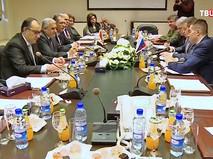 Заседание министров в Сирии