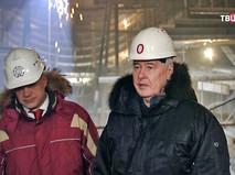 Сергей Собянин осмотрел работу метростроя