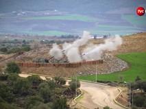 Артиллерия Турции ведет стрельбу