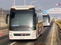 Делегация КНДР прибыла в Южную Корею