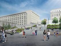 Проект пешеходной зоны между Парком Горького и Ленинским проспектом