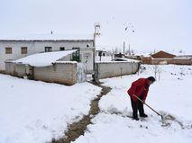 Снегопад в Испании
