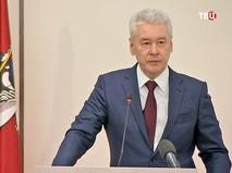 Мэр Москвы Сергей Собянинэ