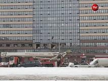 Взрыв в многоэтажном жилом доме в Санкт-Петербурге