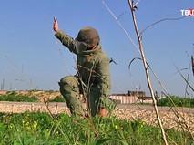 Военная полицияна авиабазе Хмеймим