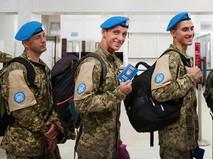 Миротворцы ООН от Украины