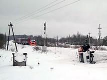 Последствия ДТП с участием бензовоза и поезда