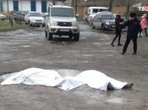Место стрельбы в Кизляре