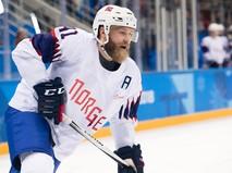 Хоккеист сборной Норвегии Патрик Торесен