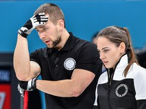 Российские спортсмены Анастасия Брызгалова и Александр Крушельницкий