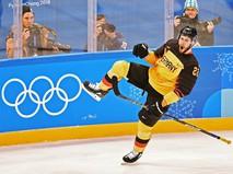 Хоккеист сборной Германии Маттиас Плахта