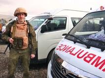 Военные медики в Сирии