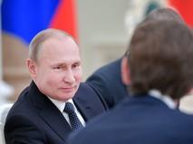 Президент России Владимир Путин и федеральный канцлер Австрии Себастиан Курц