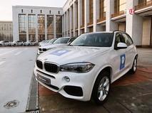 Церемония вручения автомобилей российским олимпийцам