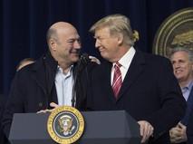 Президент США Дональд Трамп и экономический советник Гэри Кон