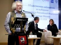Алексей Венедиктов на заседании корпуса наблюдателей Общественной палаты Москвы