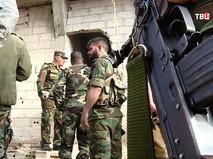 Военнослужащие армии Сирии