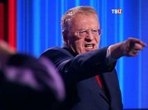 """Владимир Жириновский на дебатах на телеканал """"ТВ Центр"""""""