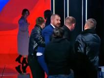 """Максим Сурайкин во время дебатов на телеканале """"Россия1"""""""