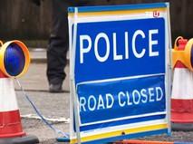 Полиция Великобритании перекрыла дорогу