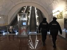 """Станция метро """"Спортивная"""" Сокольнической линии, открывшаяся после реконструкции"""
