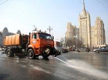 Промывка улично-дорожной сети столицы