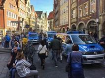 Последствия наезда грузовика на толпу людей в Мюнстере