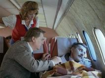 Уснувший пассажир