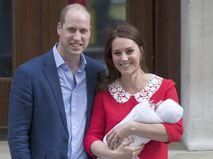 Принц Уильям, Кейт Миддлтон и их новорожденный сын