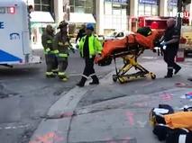 Скорая помощь Канады на месте происшествия