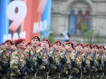 Военнослужащие парадных расчётов