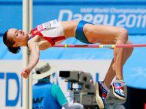 Российская спортсменка Елена Слесаренко