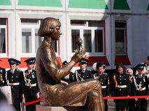 Открытие памятника поэтессе Марине Цветаевой