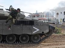 Израильские войска в секторе Газа