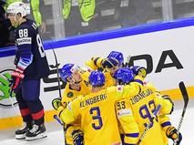 Хоккей. Чемпионат мира. Матч Швеция - США