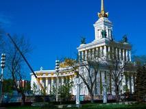 Реставрация Центрального павильона ВДНХ