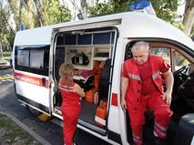 Скорая помощь в Донбассе