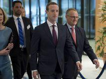 Основатель Facebook Марк Цукерберг в здании Европарламента