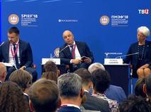 Антон Силуанов на Международном экономическом форуме
