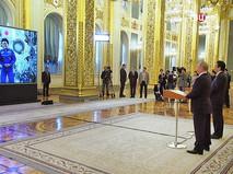 Владимир Путин и Синдзо Абэ на прямой связи с МКС