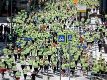 """Благотворительный зеленый марафон """"Бегущие сердца"""""""