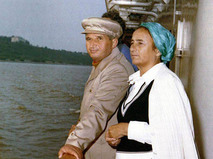 Николае Чаушеску с супругой