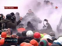 Во время беспорядков в Киеве пострадал Виталий Кличко